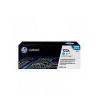 Лазерный картридж HP 123A (Оригинальный, Голубой - Cyan) Q3971A