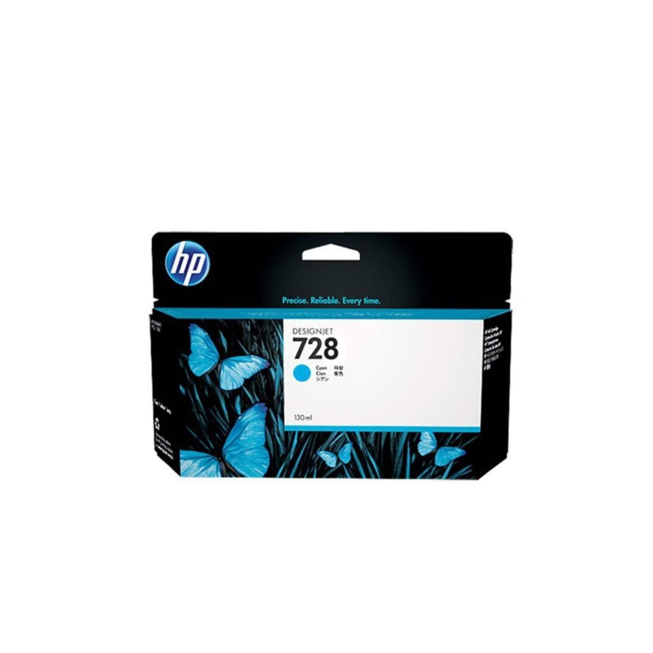 Струйный картридж HP 728 (Оригинальный, Голубой - Cyan) F9J67A