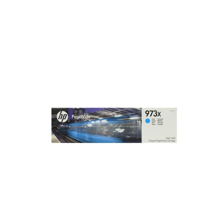 Струйный картридж HP 973X (Оригинальный, Голубой - Cyan) F6T81AE