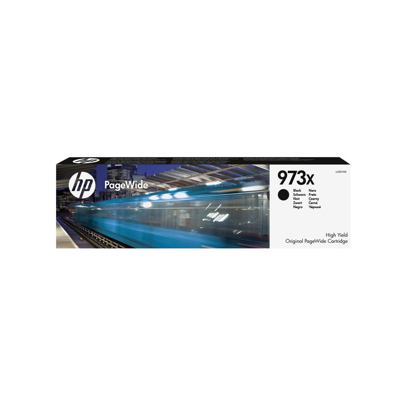 Струйный картридж HP 973X (Оригинальный, Черный - Black) L0S07AE
