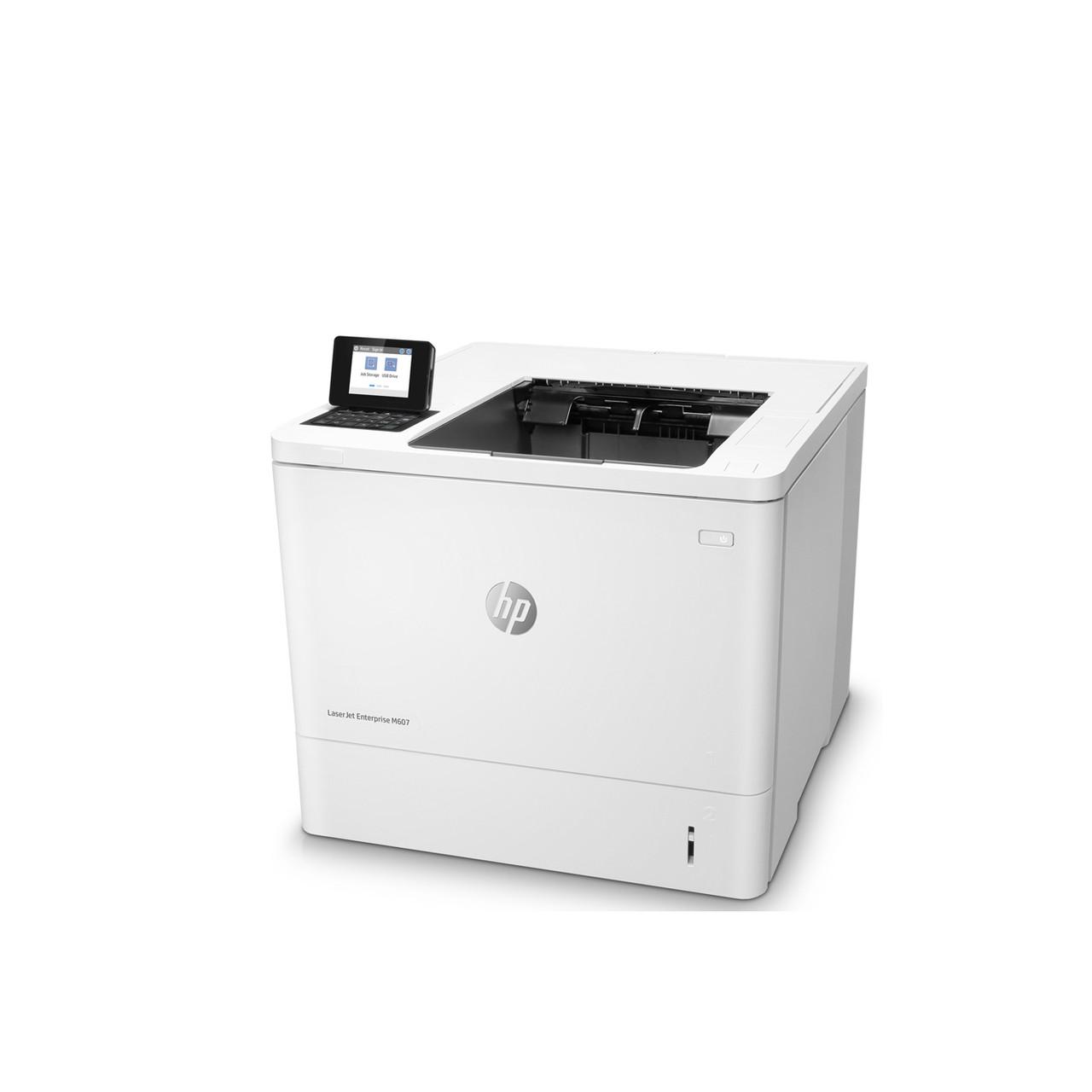 Принтер HP LaserJet Enterprise M607n B (А4, Лазерный, Монохромный (черно - белый), USB, Ethernet) K0Q14A
