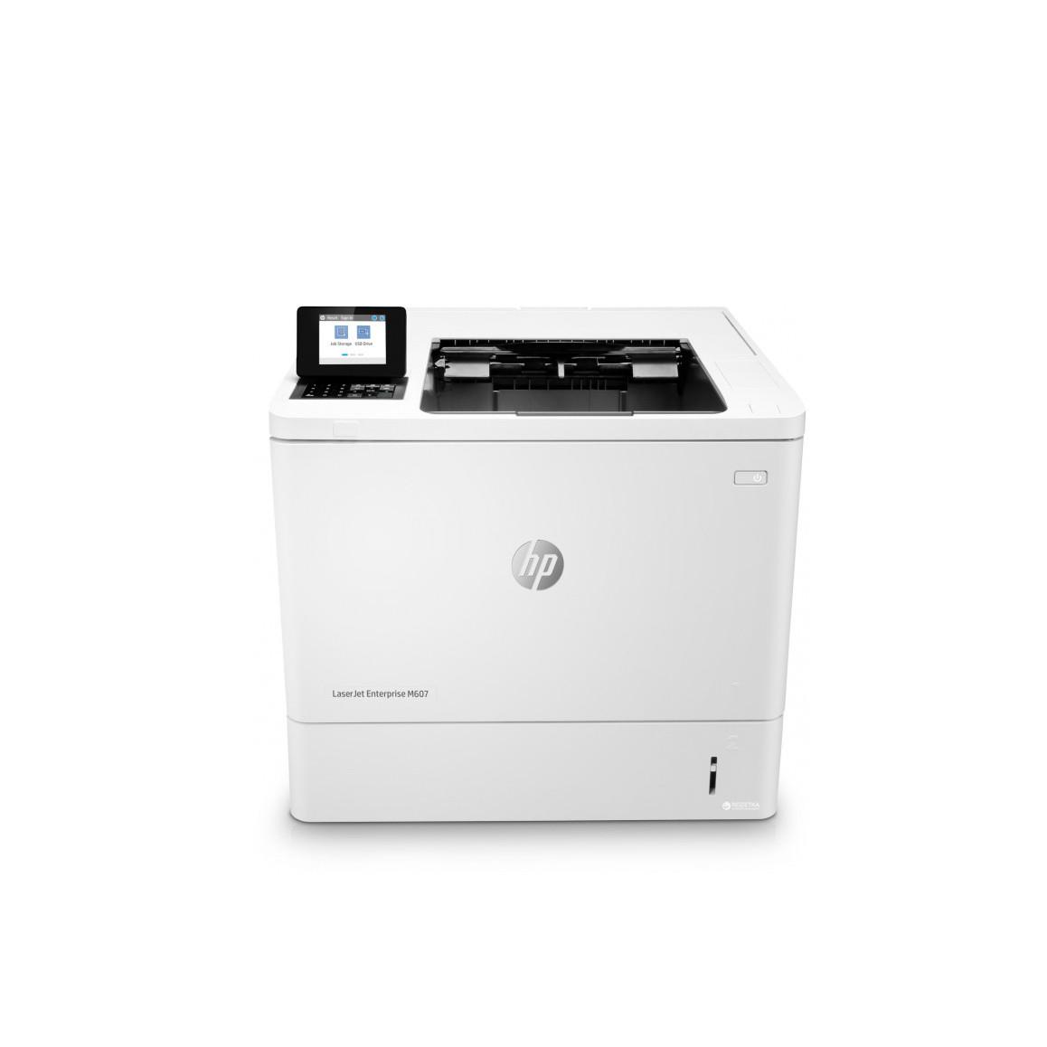 Принтер HP LaserJet Enterprise M607dn B (А4, Лазерный, Монохромный (черно - белый), USB, Ethernet) K0Q15A