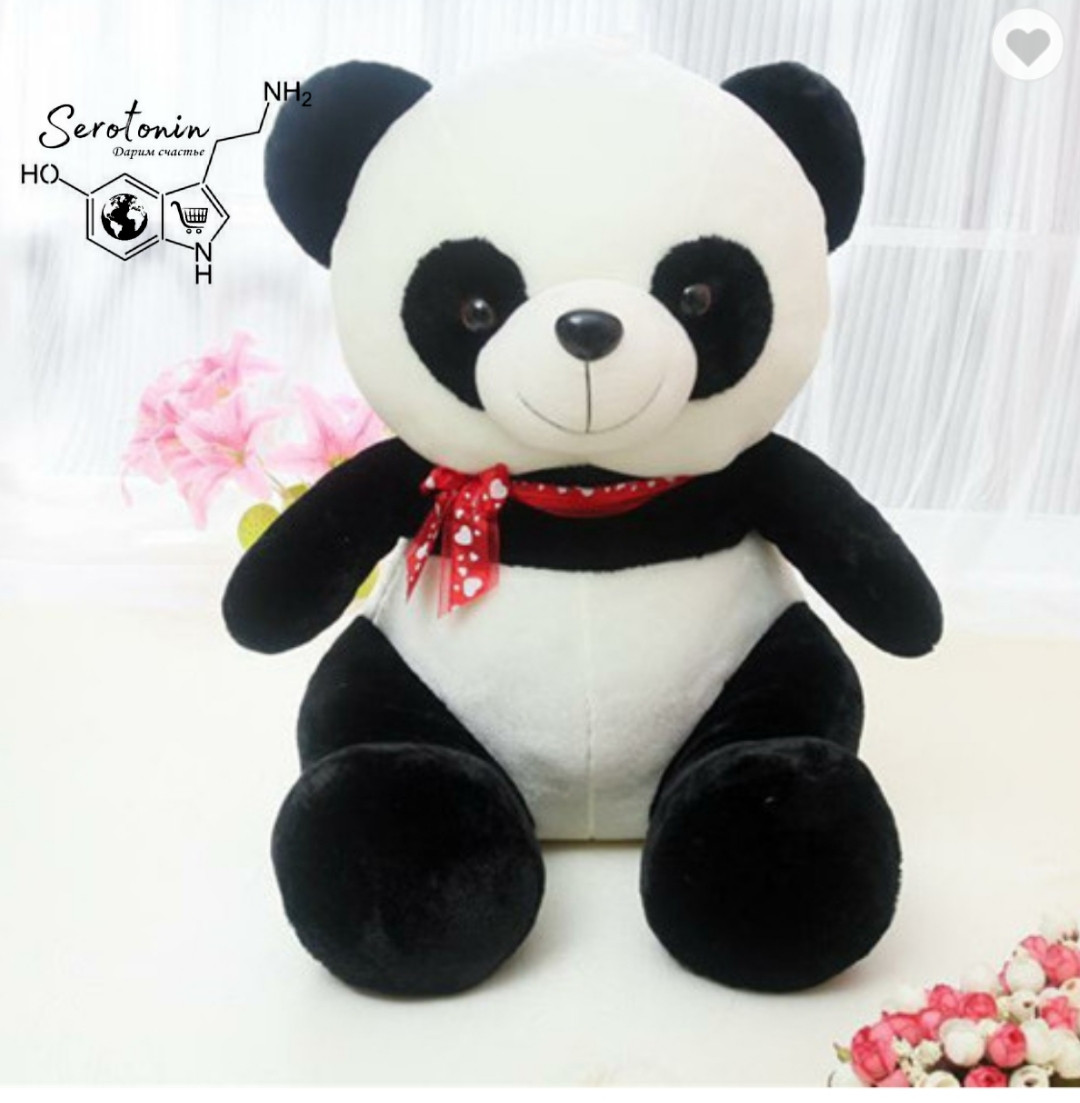 Мягкая игрушка Панда 30 см