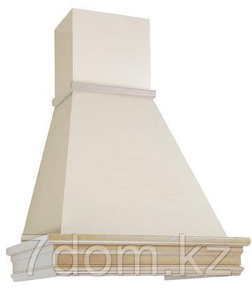 Вытяжка классика ELIKOR Вилла Валенсия 90П-650 топ.молоко/дуб неокрашенный, фото 2