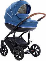 Коляска Tutis Mimi Style 2 в 1 Джинсовый Лен синий, фото 1