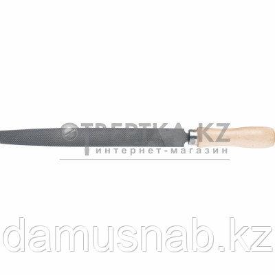 Напильник 200мм плоский деревянная ручка Сибртех