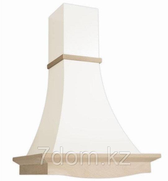 Вытяжка  классика Рококо 60П-700 белый муар/дуб неокр.