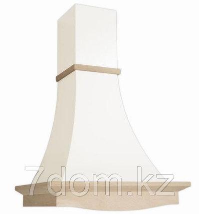 Вытяжка  классика Elikor Рококо 60П-700 белый муар/дуб неокр., фото 2
