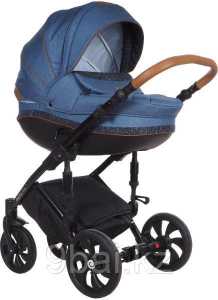 Коляска Tutis Mimi Style 2 в 1 Узор Denim синий-черный