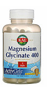 Магний глицинат 400 мг в 2 капсулах.   Magnesium Glicinate 120 шт. Жидкий магний в капсулах. Лучшее усвоение!