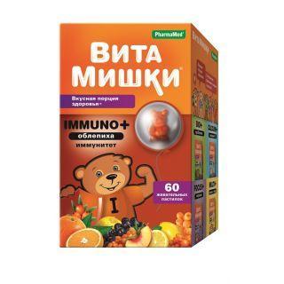 ВитаМишки Immuno+жев.пастилки №60