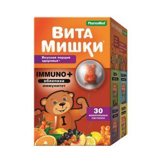 ВитаМишки Immuno+жев.пастилки №30