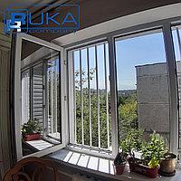 Решетки на окна, Защита детей. Универсальная СТАЛЬНАЯ решётка для окон в Алматы