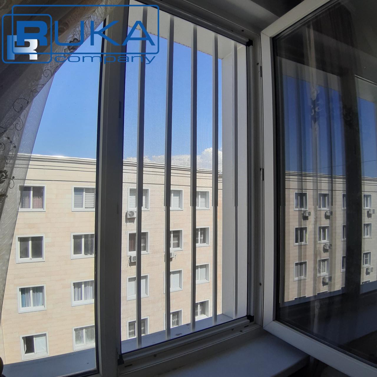 Решетки на окна, Защита детей. Универсальная СТАЛЬНАЯ решётка для окон в Алматы - фото 3