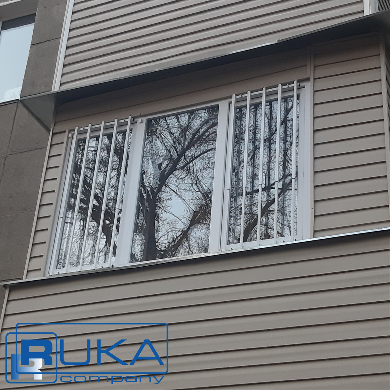 Решетки на окна, Защита детей. Универсальная СТАЛЬНАЯ решётка для окон в Алматы - фото 5