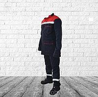 Костюм рабочий РЕСПЕКТ-2, 100% х/б, куртка и полукомбинезон.