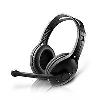 Гарнитура, Edifier, K800USB, Микрофон, Тип крепления: Дуговые, USB, Чёрный
