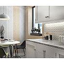 Кафель | Плитка настенная 28х40 Киото | Kioto 7С белый, фото 2