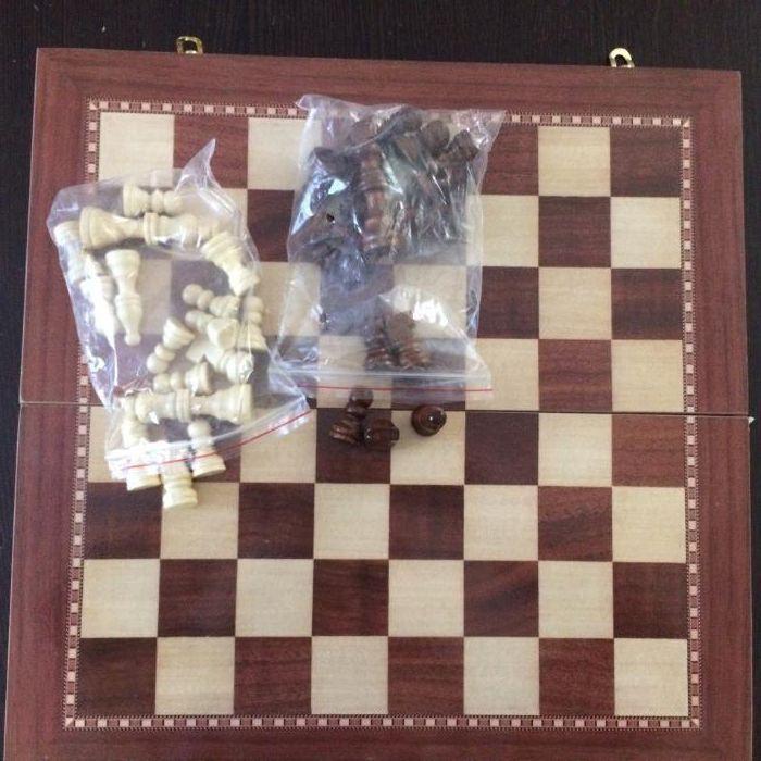 Шахматы 40 х 40 см - фото 1