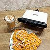 Вафельница-бутербродница Kitfort KT-1638, фото 3