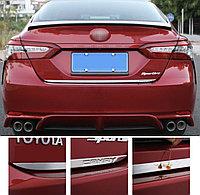 Хром накладка на планку багажника Camry V70 2018-21