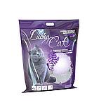 С ароматом лаванды, 11л, силикагелевый впитывающий наполнитель Lucky Cat
