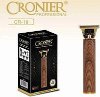 Триммер машинка для волос, бороды, окантовки Cronier CR-19