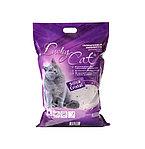Без запаха, 22л, силикагелевый впитывающий наполнитель Lucky Cat