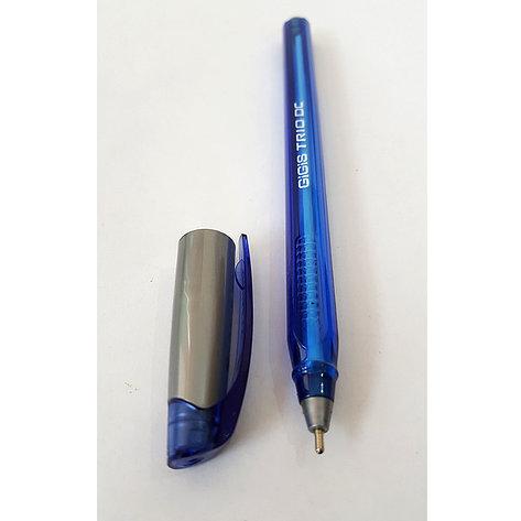 Ручка шариковая UNI-MAX TRIO DC 1мм синяя, фото 2
