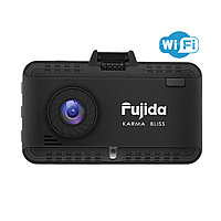 Fujida Karma Bliss WiFi, видеорегистратор с GPS радар-детектором и WiFi