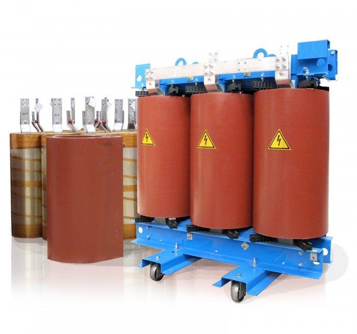 Испытание сухого силового трансформатора 6 - 10 кВ