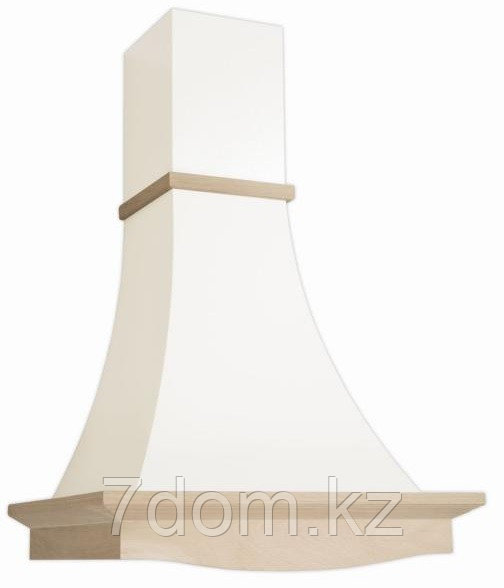 Вытяжка классика Elikor Рококо 60П-700 белый муар/дуб неокр.