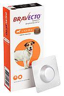 Bravecto, Бравекто жевательная таблетка от блох и клещей для собак весом 4,4-10кг., 250мг