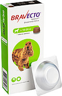 Bravecto, Бравекто жевательная таблетка для собак весом 10-20кг., 500мг