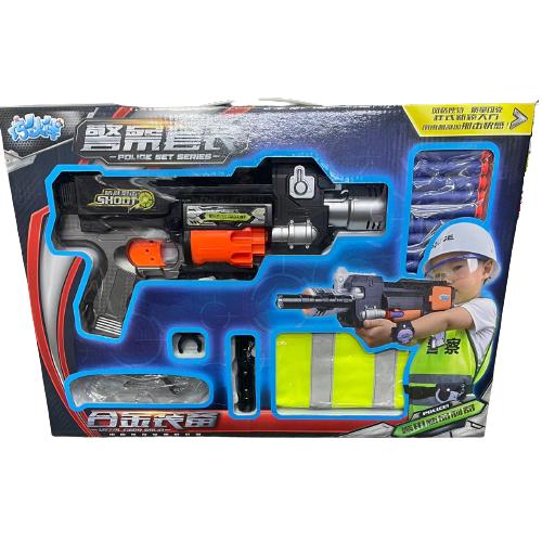 Полицейский бластер с мягкими пулями