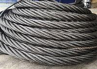 Канат (трос) стальной 22,5 мм ГОСТ 3089-80 тройной свивки типа ЛК-Р