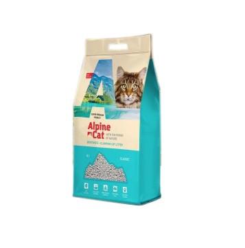 Без запаха, 10л., наполнитель бентонитовый комкующийся Alpine Cat