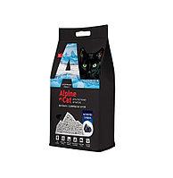 С активированным углем, 5л., наполнитель бентонитовый комкующийся Alpine Cat