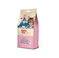С ароматом сакуры, 10л., наполнитель бентонитовый комкующийся Alpine Cat