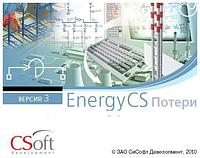 Право на использование программного обеспечения EnergyCS Потери v.3, сетевая лицензия, серверная час