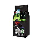 С активированым углем и зеленым чаем, 10л., наполнитель бентонитовый комкующийся Alpine Cat