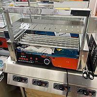 Роликовый гриль для жарки сосисок - 5 роликов с полкой, фото 1