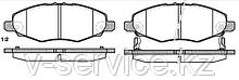 Тормозные колодки REMSA   1235.02-AF