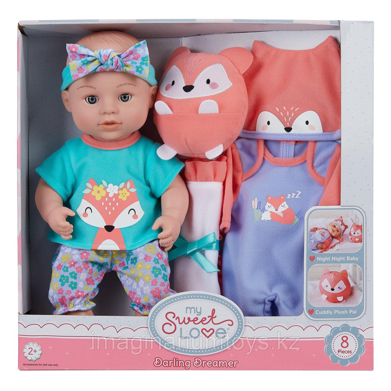 Кукла пупс с комплектом одежды My Sweet Love - фото 3