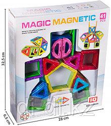 Магнитный конструктор Magic magnetic (41 деталь), в коробке