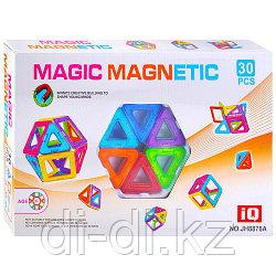 Магнитный конструктор Magic magnetic (30 деталей), в коробке