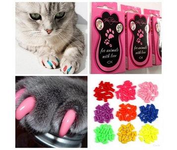 Антицарапки, накладные когти для кошек, размер S