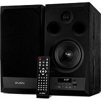 SVEN MC-20, чёрный, акустическая система 2.0, мощность 2x45Вт (RMS), FM-тюнер, USB/microSD, дисплей