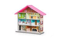 Кукольный домик MiMi розовый