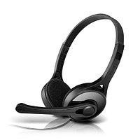 Гарнитура, Edifier, K550, Микрофон, Тип крепления: Дуговые, Два раздельных выхода для микрофона и на
